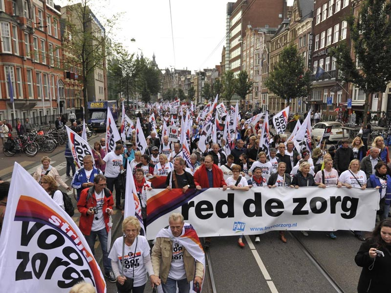zorg protest
