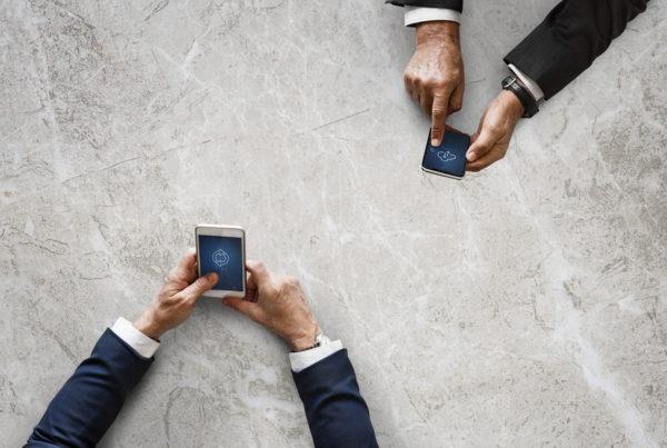 smartphone connectie