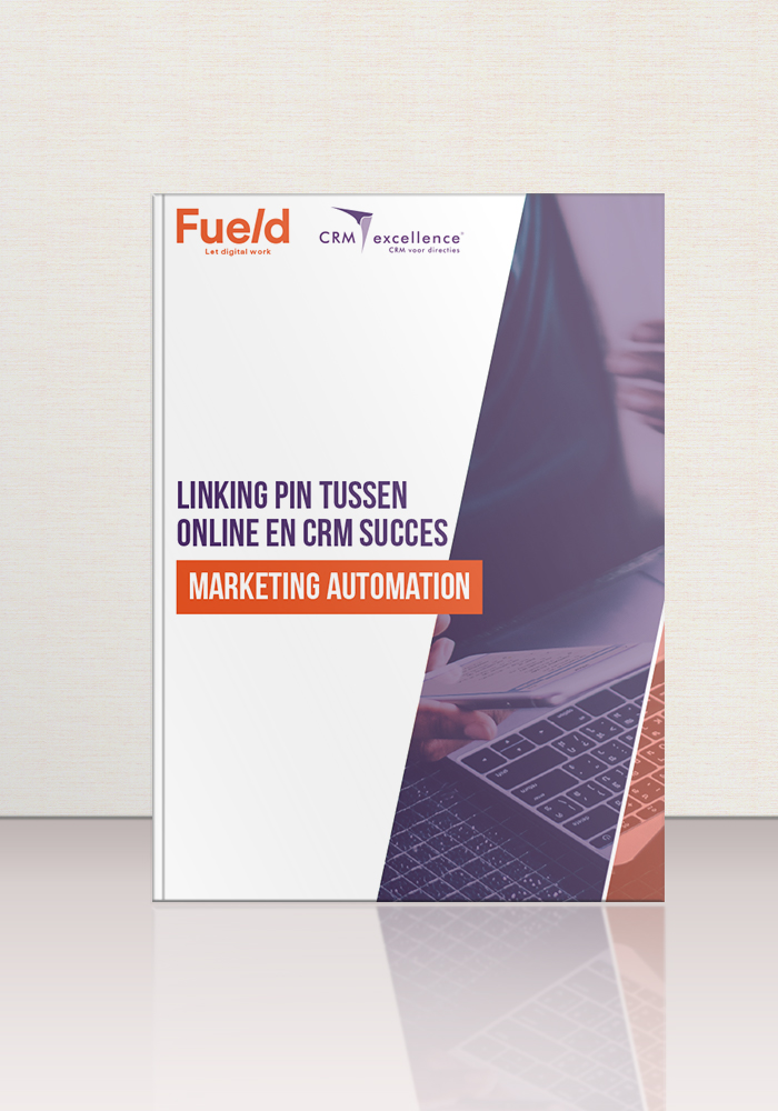 WP mockup linking pin online en CRM succes